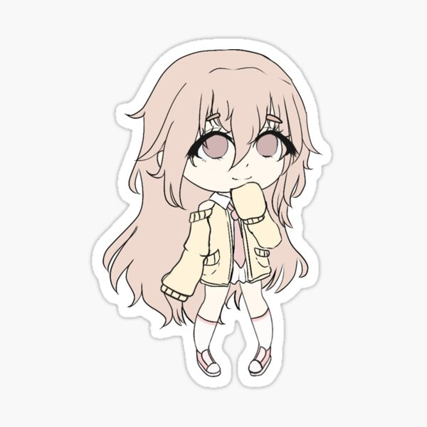 Gacha Life Anime Stickers Redbubble