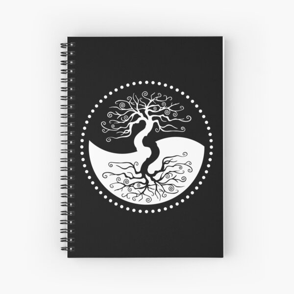 The Principle of Correspondence - Tree of Life Spiral Notebook