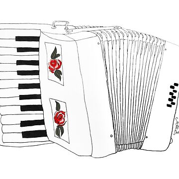 Accordion & Roses by SarahRedShoes