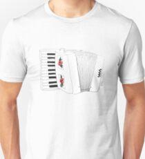 Accordion & Roses Unisex T-Shirt