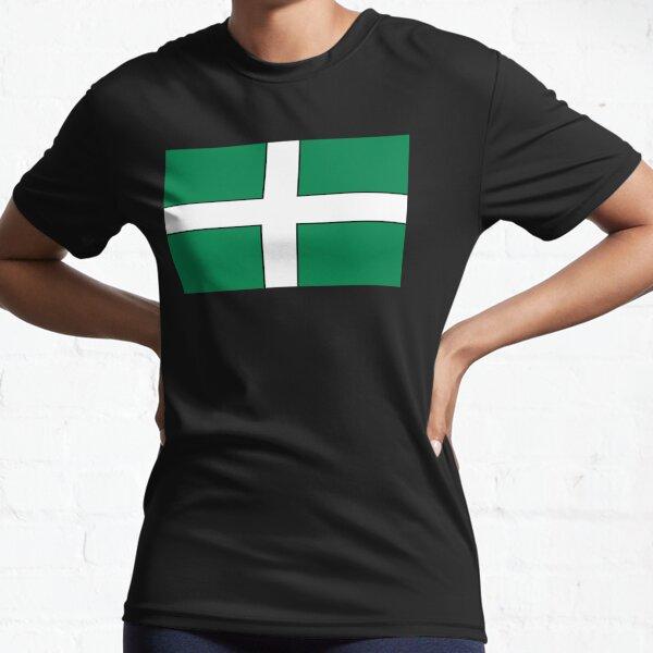 Devon Flag - FLAG0008 Active T-Shirt