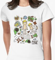 Dress up Link Womens Fitted T-Shirt