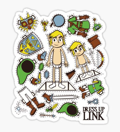 Dress up Link Sticker
