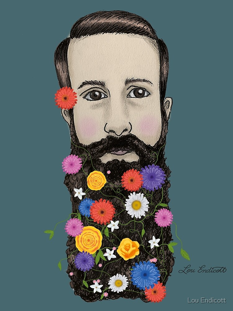 Floral He by Lou Endicott