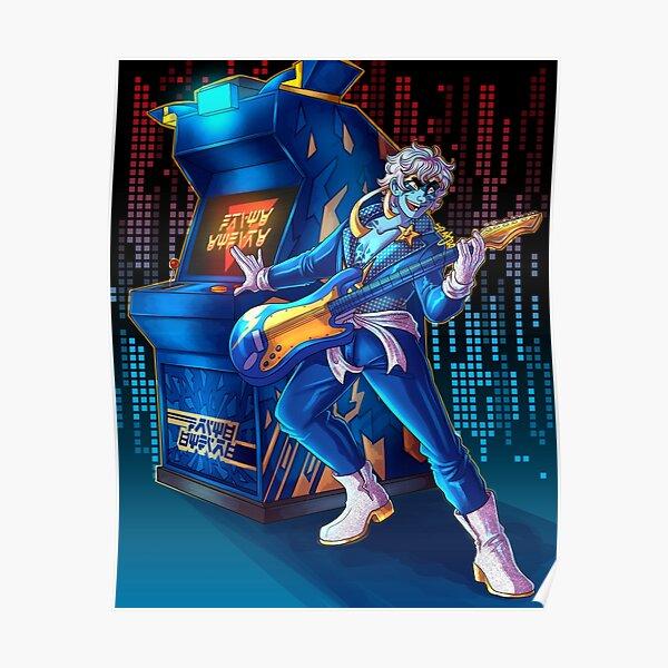 Jay's arcade pod Poster