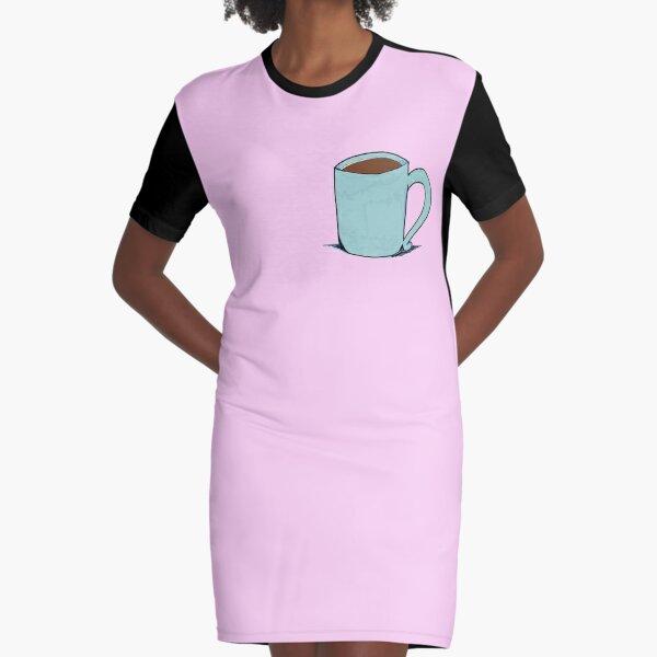 Una tacita de café Vestido camiseta