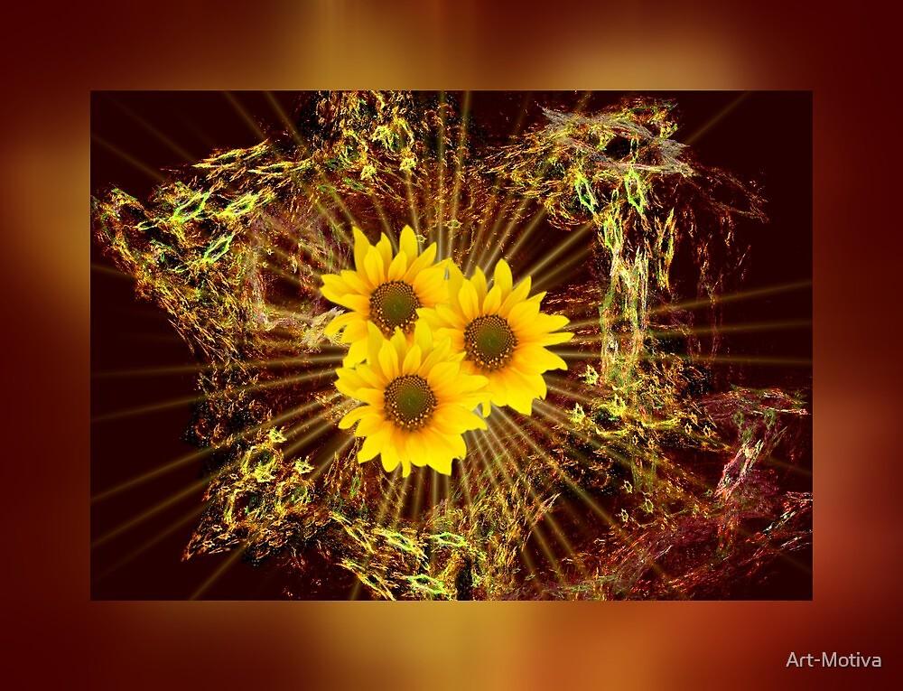 Sunflowers by Art-Motiva