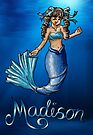 Madison the Mermaid by NuttyRachy