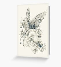 Pegasi Greeting Card