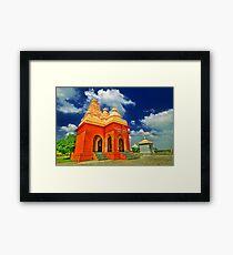 Shiv Temple - Tulapur Framed Print