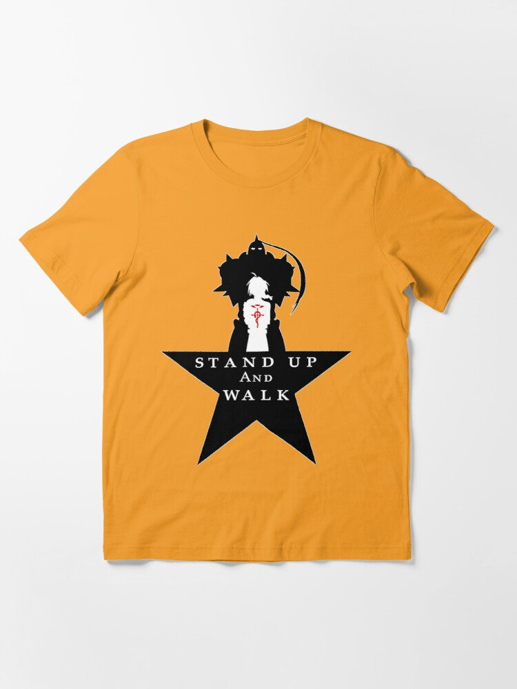 """Alternate view of FullMetal 4 Ham: """"Stand Up"""" Essential T-Shirt"""