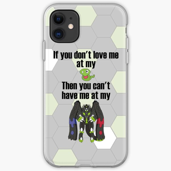 Zygarde - If you don't love me at my Core iPhone Soft Case