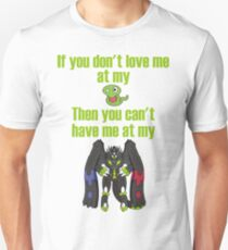 Zygarde - If you don't love me at my Core Slim Fit T-Shirt