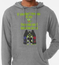 Zygarde - If you don't love me at my Core Lightweight Hoodie