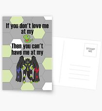 Zygarde - If you don't love me at my Core Postcards