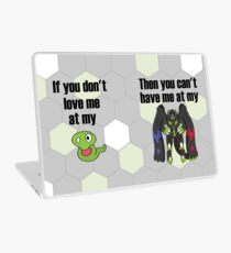 Zygarde - If you don't love me at my Core Laptop Skin