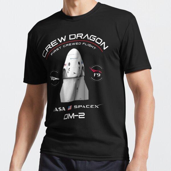 Crew Dragon Demo-2 Active T-Shirt