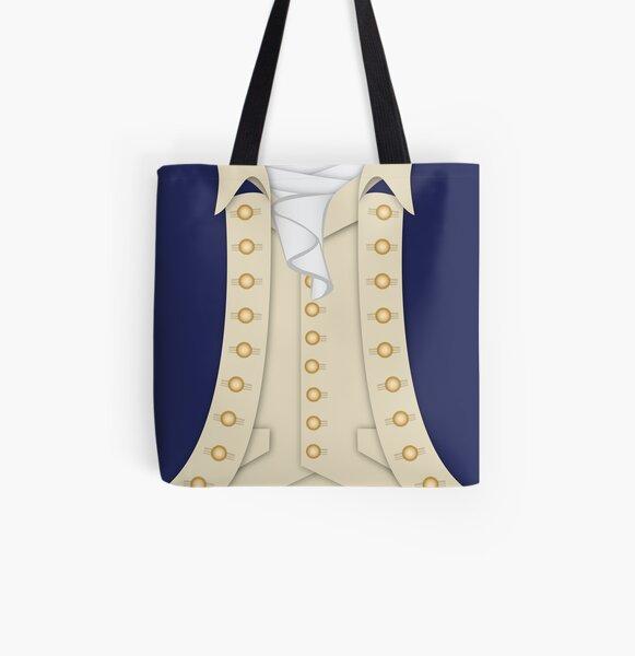 Alexander Hamilton All Over Print Tote Bag
