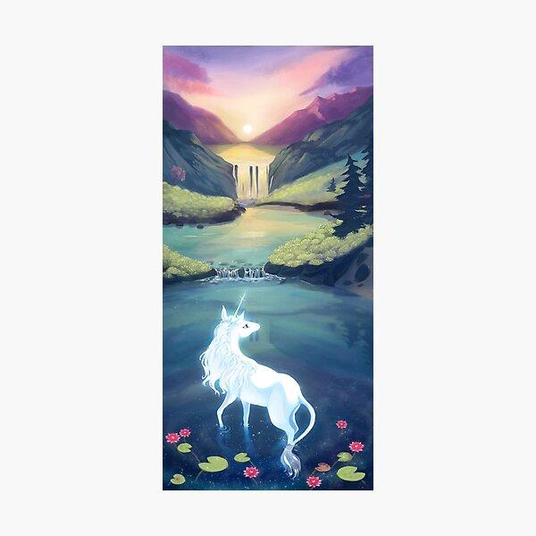 Unicorn Lake Photographic Print