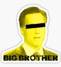 Mitt Romney big brother 2012 Sticker