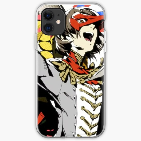 Persona 5 - Crow All-Out Attack iPhone Soft Case