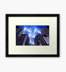 Space City Framed Print