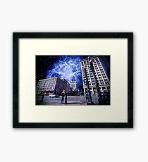 Astro City  Framed Print