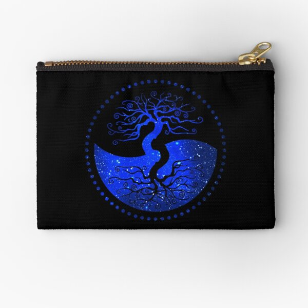 Star Sky Tree of Life - The Principle of Correspondence Zipper Pouch
