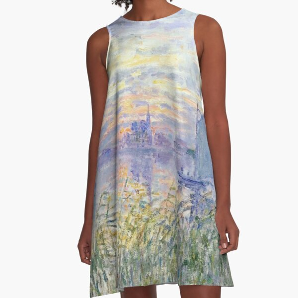 """Sunset on The Seine"" 