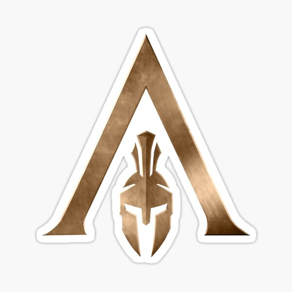 Assassins Creed Logo Stickers Redbubble