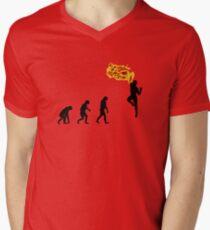 99 Steps of Progress - Shoryuken Men's V-Neck T-Shirt