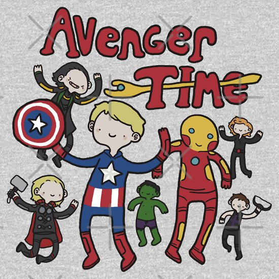 TShirtGifter presents: Avenger Time