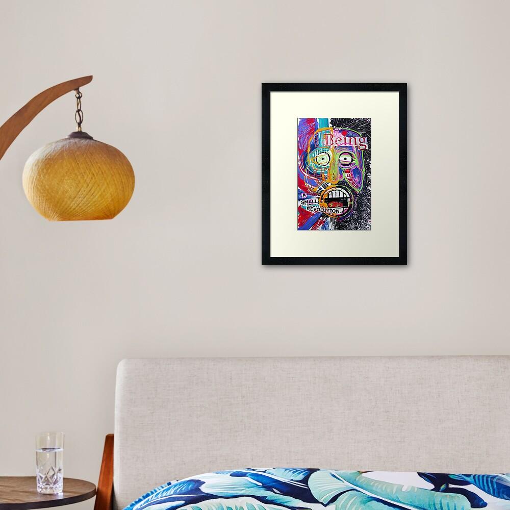 A Small Revolution Framed Art Print