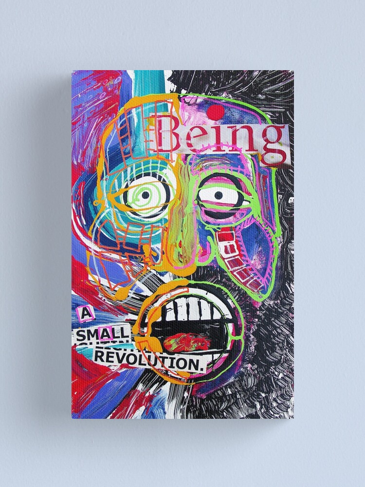 Alternate view of A Small Revolution Canvas Print