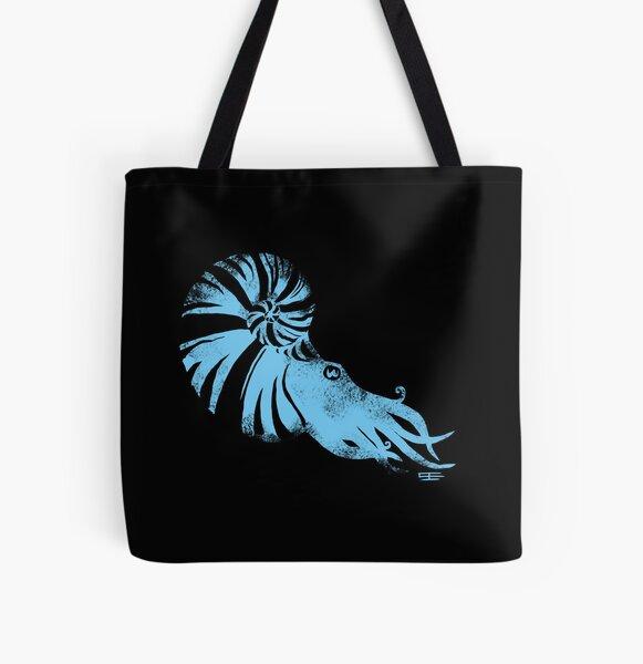 Ammonite All Over Print Tote Bag