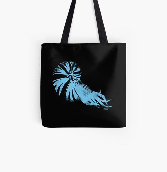 Ammonite All Over Print Tote Bag