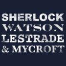 Sherlock Team  by erospsyche