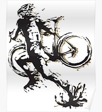 Cyclocross mud Poster
