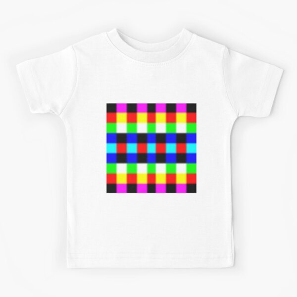 Colors, Graphic design, Field of study Kids T-Shirt
