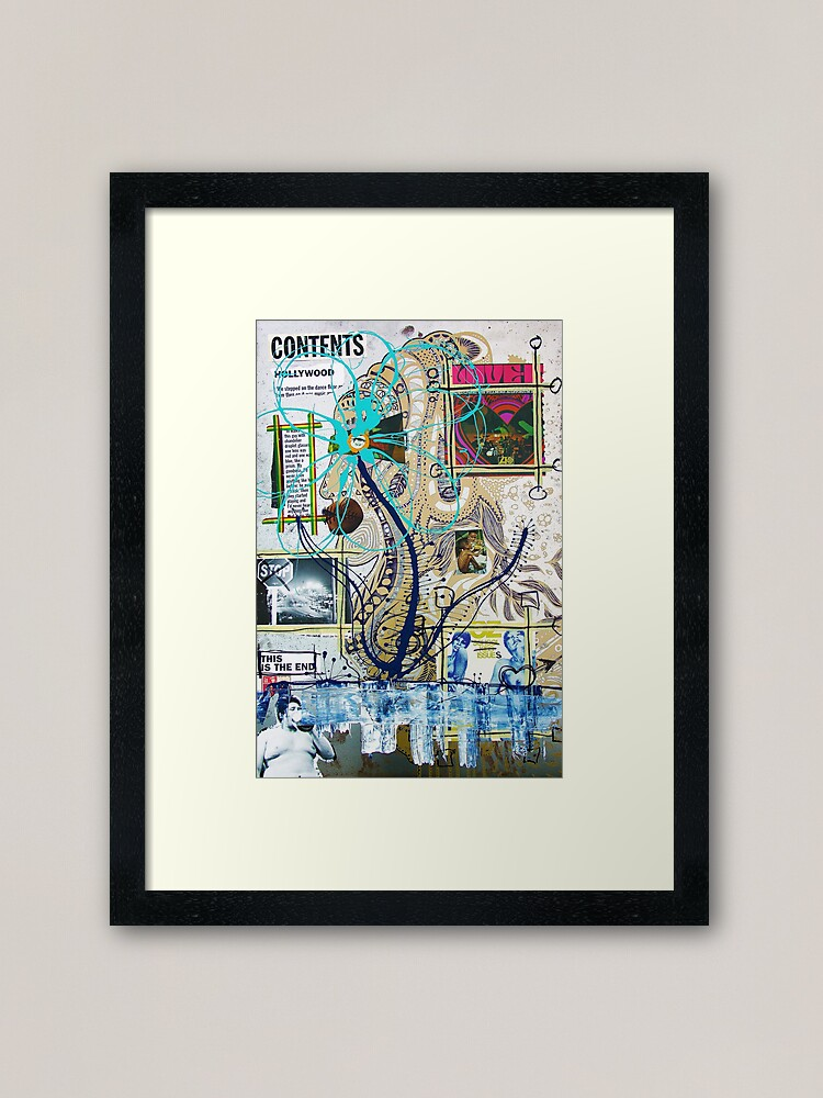 Alternate view of This Is The End Framed Art Print