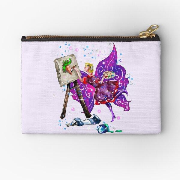 Tianna The T-Shirt Artist Fairy™ Zipper Pouch