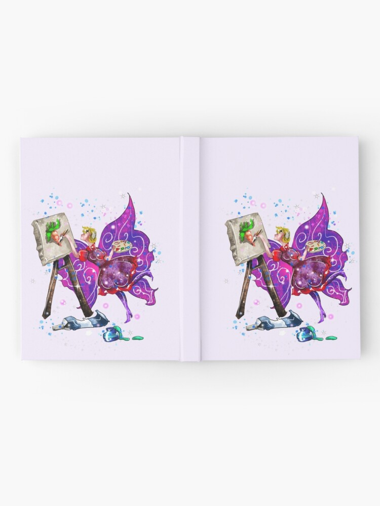 Alternate view of Tianna The T-Shirt Artist Fairy™ Hardcover Journal