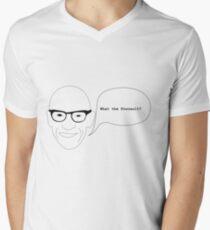 What the foucault ? Men's V-Neck T-Shirt