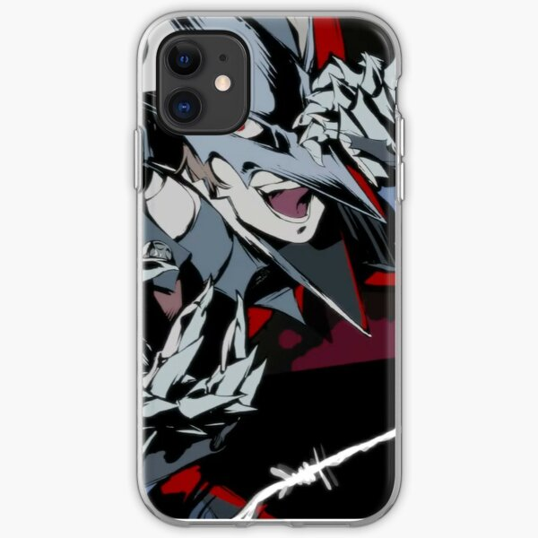 Persona 5 Royal - Black Mask All-Out Attack iPhone Soft Case