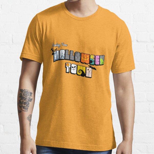 Halloween Town Postcard Essential T-Shirt
