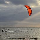 Orange Sail by Peter Hammer