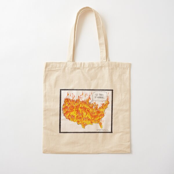 So Tired of Winning Cotton Tote Bag