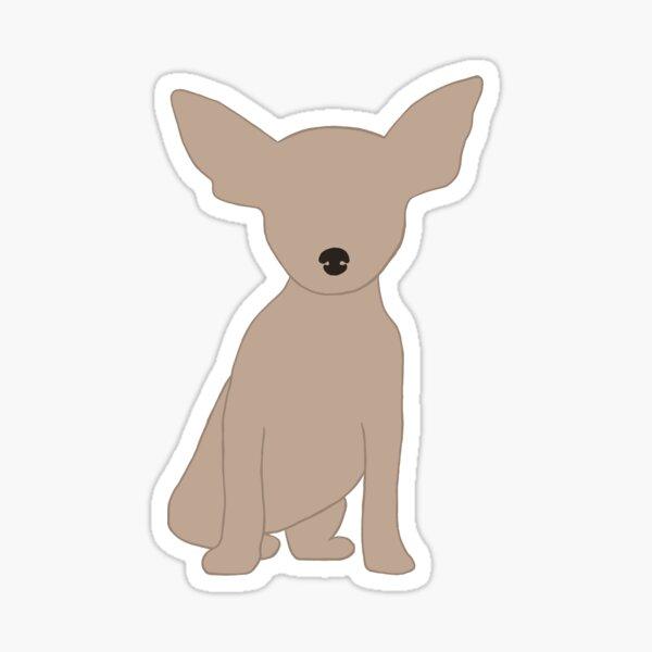Chihuahua Sticker Sticker
