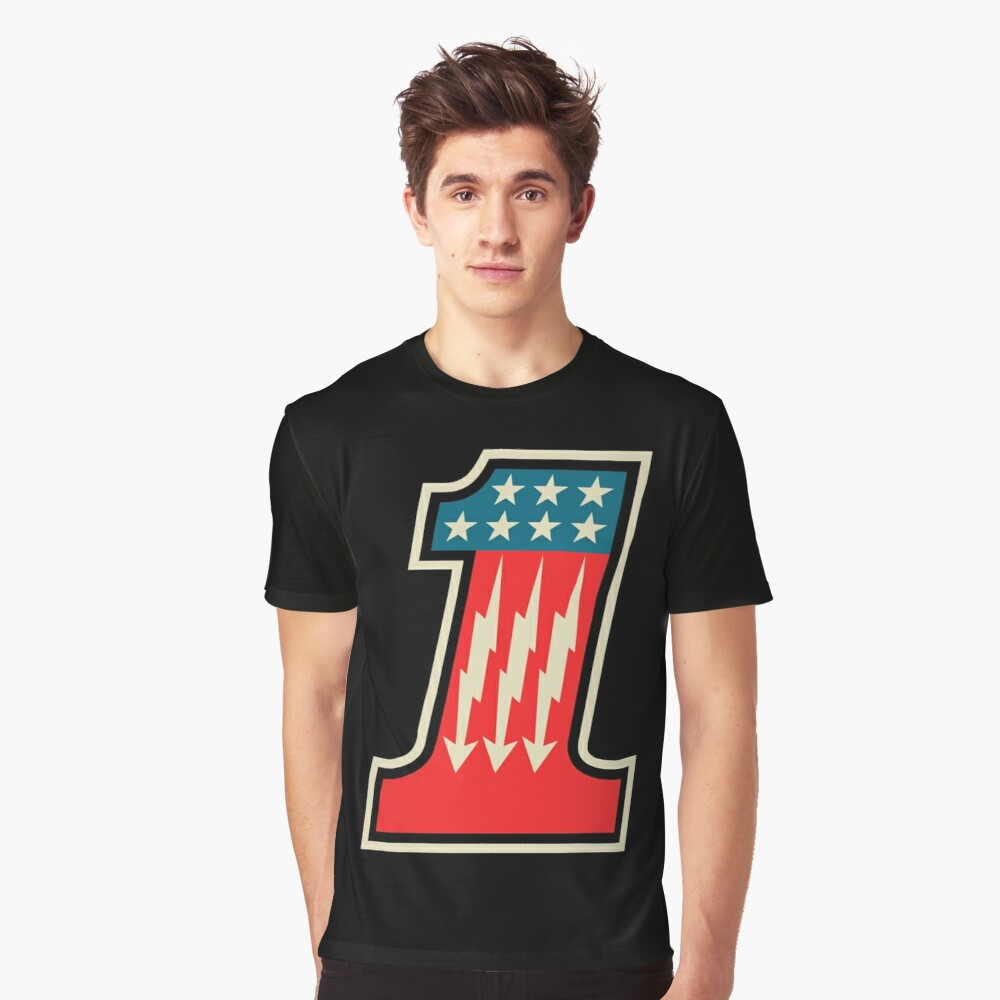 Cool Number One 1 Graphic T-Shirt