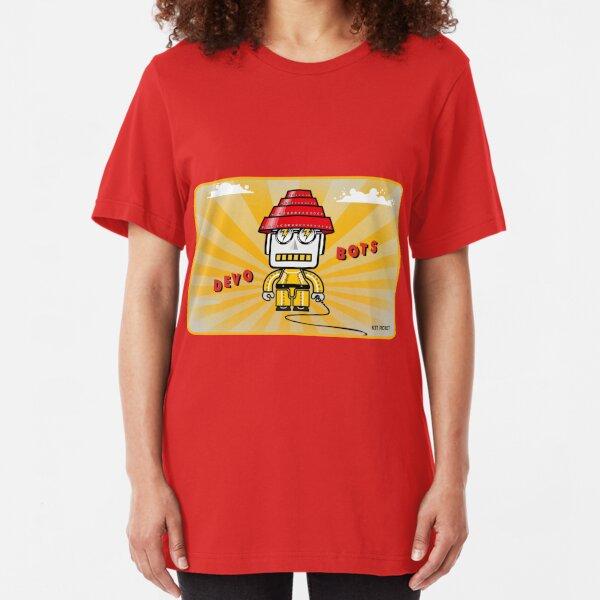 Devo Bots 007 Slim Fit T-Shirt